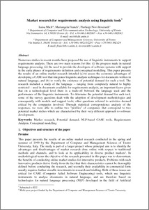 marketing research tools paper